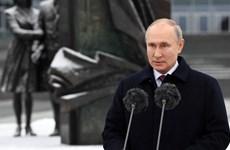 Tổng thống Nga thăm trụ sở Tổng cục Tình báo Ngoài nước