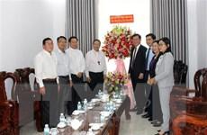 Lãnh đạo Ban Dân vận TW chúc mừng đồng bào Công giáo Bình Thuận