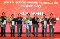 Thủ tướng phê chuẩn kết quả bầu bổ sung 5 Phó Chủ tịch UBND Hà Nội