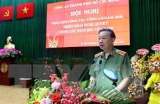 TP.HCM: Duy trì tốt an ninh, tạo môi trường lành mạnh để phát triển
