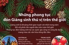 [Infographics] Những phong tục đón Giáng sinh thú vị trên thế giới