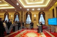 Đại sứ quán Việt Nam tại Bắc Kinh gặp gỡ báo chí Việt-Trung