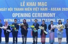 Khai mạc Ngày hội Thanh niên Việt Nam-ASEAN 2020: Gắn kết và thích ứng