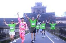 Hơn 4.500 vận động viên tham gia giải chạy marathon Huế năm 2020