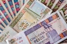 Cải cách hệ thống tiền tệ của Cuba chính thức có hiệu lực