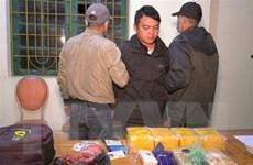 Lào Cai bắt đối tượng vận chuyển trái phép 66.000 viên ma túy tổng hợp