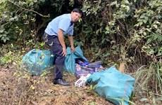 Hải quan Gia Lai phát hiện hơn 1.200 gói thuốc lá lậu vô chủ