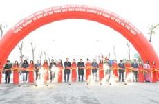 Hà Nội khởi công các công trình hạ tầng khung kết nối vùng