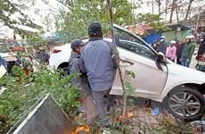 Hải Phòng: ''Xe điên'' lao vào chợ khiến nhiều người bị thương