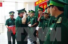 Tiền Giang điều động lực lượng trên tuyến biên giới Long An