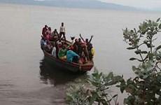 Chìm thuyền ở Cộng hòa Dân chủ Congo, 25 người được cho là thiệt mạng