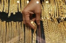 Giá vàng châu Á đi lên từ mức thấp của gần sáu tuần qua