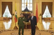 Trung Quốc-Myanmar đẩy nhanh tiến độ xây dựng hành lang kinh tế chung