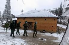 Bộ đội Biên phòng 'ăn núi, ngủ rừng' trong giá rét để làm nhiệm vụ