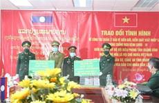 Việt-Lào trao đổi về kiểm soát xuất nhập cảnh và phòng, chống dịch
