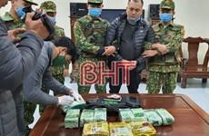 Hà Tĩnh: Bắt vụ vận chuyển 11kg ma túy qua biên giới về Việt Nam