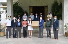 Hỗ trợ cộng đồng người Việt tại Thái Lan phòng chống đại dịch COVID-19