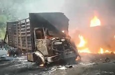 Cameroon: Xe khách đâm vào xe bồn chở xăng, hơn 50 người chết cháy