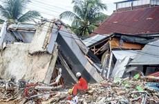 Indonesia tiếp tục hứng chịu động đất cường độ mạnh