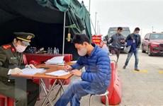 Người dân về từ vùng dịch khẩn trương khai báo y tế, kiểm tra sức khỏe