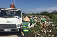 Hà Nội xóa các điểm ùn ứ rác thải sinh hoạt ở ngoại thành