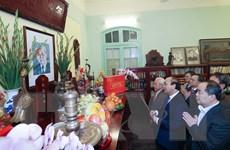 Thủ tướng dâng hương tưởng nhớ các lãnh đạo Đảng, Nhà nước