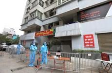 Hà Nội: Cách ly tòa N03 Lạc Trung - nơi ở của ca nhiễm COVID-19 mới