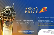 Phát động Giải thưởng ASEAN năm 2021 vinh danh các công dân xuất sắc