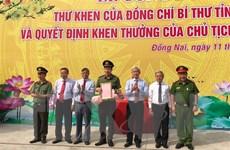 Khen thưởng Công an tỉnh Đồng Nai triệt phá 2 chuyên án quan trọng