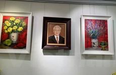 Những bức tranh Việt mang sứ mệnh ngoại giao văn hóa