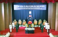 Lời cảm ơn của Ban Lễ tang và gia đình nguyên PTT Trương Vĩnh Trọng