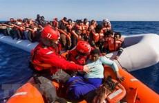 Đắm thuyền ngoài khơi Libya, hơn 40 người di cư thiệt mạng