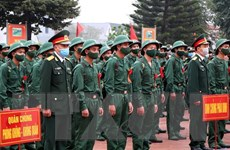 Quân khu 2 hoàn thành chỉ tiêu tuyển quân đợt 1 năm 2021