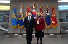 Hàn Quốc và EU cam kết thúc đẩy quan hệ hợp tác an ninh