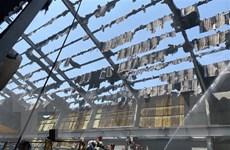 Bình Dương: Khống chế kịp thời đám cháy tại công ty Tôn Hoa Sen