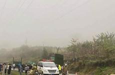Bắc Kạn: Xe môtô va chạm với hai xe đầu kéo khiến hai người tử vong
