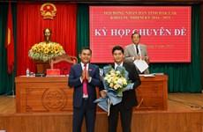 Bầu bổ sung Phó Chủ tịch Hội đồng nhân dân tỉnh Đắk Lắk