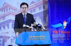 Khẳng định vai trò và vị thế của Việt Nam tại Hội đồng Bảo an LHQ