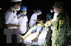 Cấp cứu thành công ngư dân bị đột quỵ não tại đảo Trường Sa