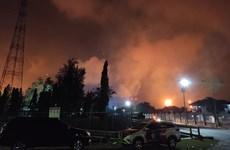 Hỏa hoạn lớn tại nhà máy lọc dầu Balongan của Indonesia