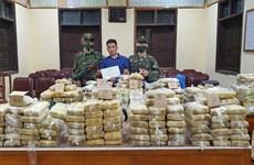 Triệt phá đường dây ma túy xuyên quốc gia, thu giữ gần 350kg ma túy