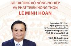 Tiểu sử Bộ trưởng Bộ Nông nghiệp và Phát triển nông thôn Lê Minh Hoan