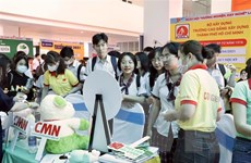 Sôi động Ngày hội Hướng nghiệp-Dạy nghề tại Thành phố Hồ Chí Minh