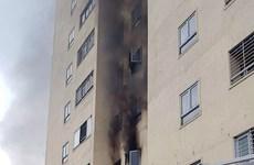 Nghệ An: Cháy tại chung cư, người dân hoảng loạn chạy thoát thân