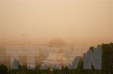 Trung Quốc: Thủ đô Bắc Kinh chìm trong cát bụi ô nhiễm