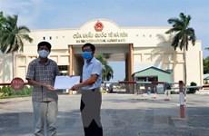 Tổng lãnh sự quán tại Preah Sihanouk tiếp nhận hỗ trợ của Kiên Giang