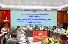 Hà Nội thống nhất danh sách 160 người ứng cử đại biểu HĐND thành phố