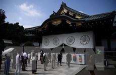 Thủ tướng Nhật Bản Suga Yoshihide gửi đồ lễ đến đền thờ Yasukuni