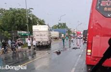 Đồng Nai: Tài xế xe tải vượt ẩu gây tai nạn làm 3 người tử vong