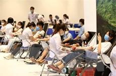 Những giọt máu hồng đặt mục tiêu tiếp nhận 530.000 đơn vị máu